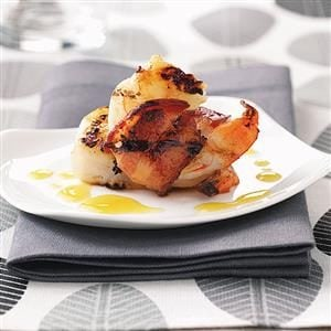 Smoky Grilled Shrimp for Two Recipe