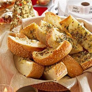 Snappy Garlic Bread Recipe