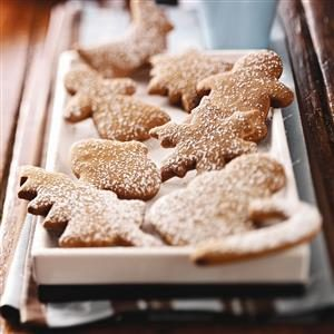 Soft Molasses Cutout Cookies Recipe