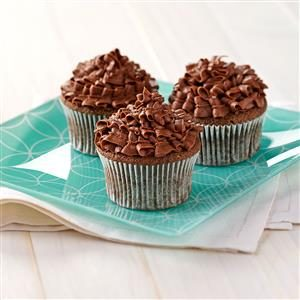 Sour Cream Chocolate Cupcakes Recipe