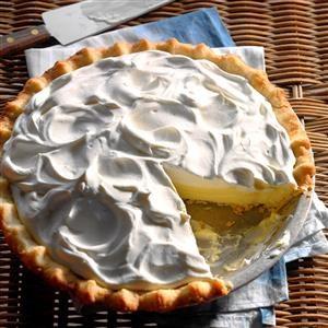 Sour Cream-Lemon Pie Recipe