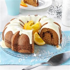 Sour Cream Pumpkin Cake