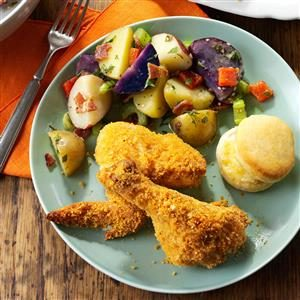 Southern-Style Oven-Fried Chicken Recipe