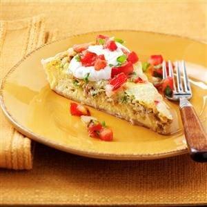 Southwest Breakfast Tart