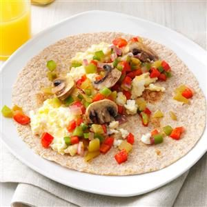 Southwest Breakfast Wraps Recipe