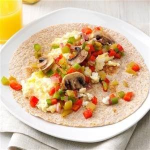 Southwest Breakfast Wraps Recipe
