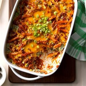 Southwest Pasta Bake Recipe