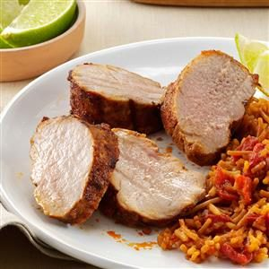 Southwest Pork Tenderloin Recipe