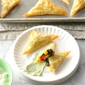Southwest Spanakopita Bites Recipe