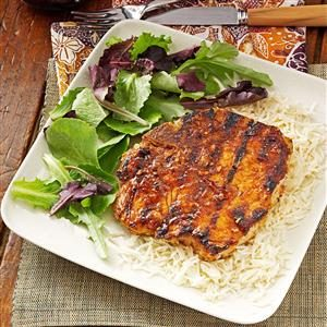 Southwest Summer Pork Chops Recipe