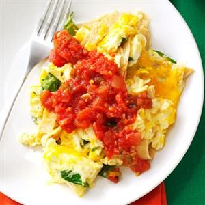 Southwest Tortilla Scramble Recipe