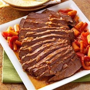 Southwestern Beef Brisket Recipe photo by Taste of Home