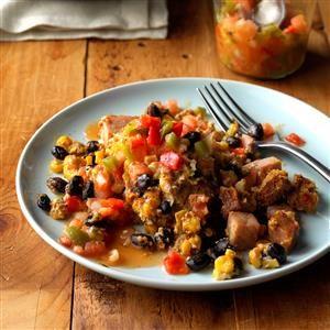 Southwestern Breakfast Slow Cooker Casserole Recipe