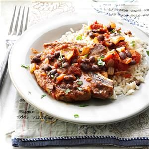Southwestern Pork Chops Recipe