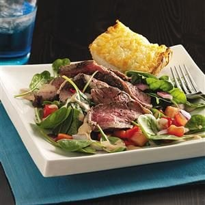 Southwestern Steak Salads Recipe