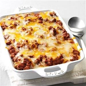 Spaghetti Pie Casserole Recipe