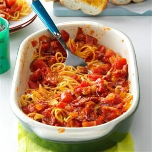 Spaghetti with Bacon