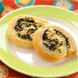 Spanakopita Pinwheels Recipe