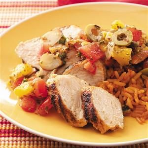 Spanish Turkey Tenderloins Recipe