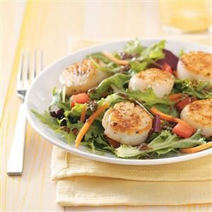 Special Scallops Salads