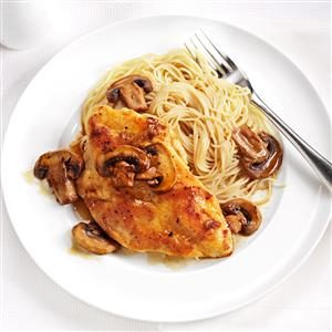 Inspired By: Olive Garden's Chicken Marsala