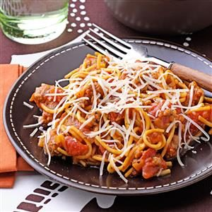 Speedy Stovetop Spaghetti Recipe