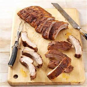 Spice-Rubbed Ribs Recipe