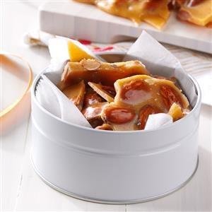 Spiced Almond Brittle Recipe