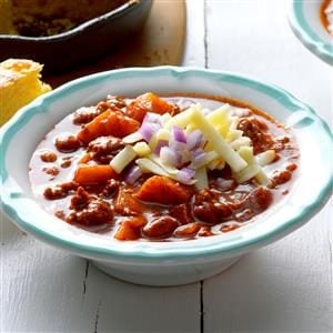 Spiced Apple Chili