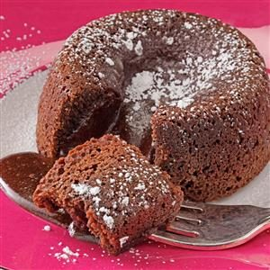 Spiced Chocolate Molten Cakes Recipe