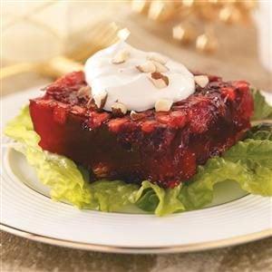 Spiced Cranberry-Chutney Gelatin Salad Recipe