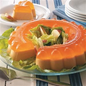 Spiced Orange Gelatin Salad Recipe