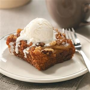 Spiced Pear Upside-Down Cake Recipe