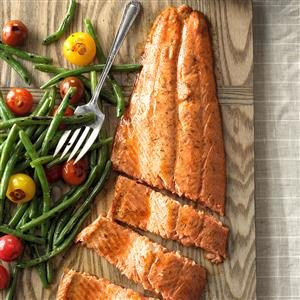 Spiced Salmon Recipe