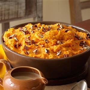Spiced Sweet Potato Mash Recipe