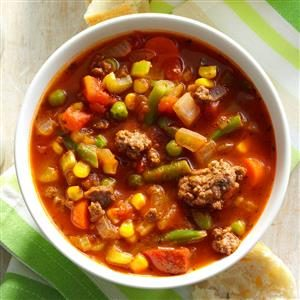 Spicy Beef Vegetable Stew