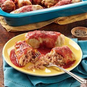 Spicy Cabbage Rolls Recipe