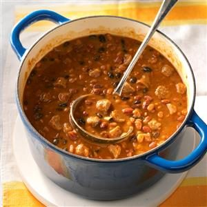 Spicy Chuck Wagon Beans Recipe