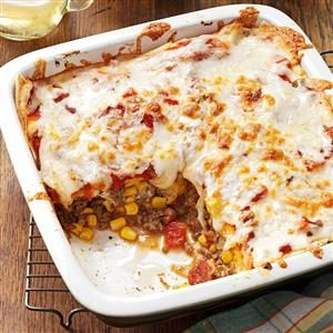 Spicy Enchilada Casserole Recipe