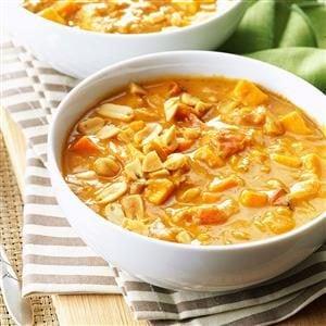 Spicy Peanut Soup Recipe