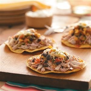 Spicy Pork Tostadas Recipe
