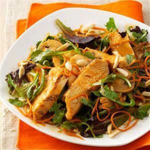 Spicy Sesame Chicken Salad Recipe