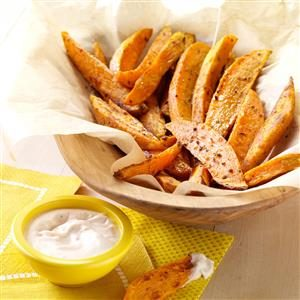 Spicy Sweet Potato Fries Recipe