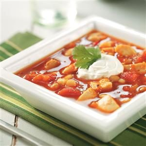 Spicy Turkey Bean Soup Recipe
