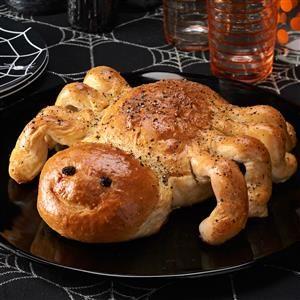 Spider Bread Recipe