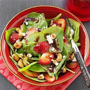 Spinach & Gorgonzola Salad Recipe
