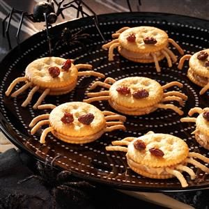Spooky Spider Snacks Recipe