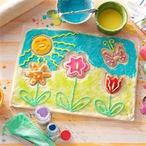 Spring Garden Cookie Puzzle Recipe