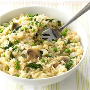 Spring Green Risotto Recipe