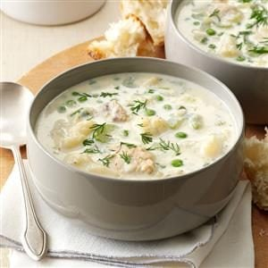 Spring Salmon Chowder Recipe